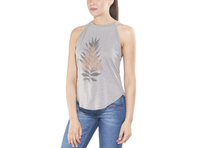 Prana Graphic You Top sin Mangas Mujer, nature up heather grey